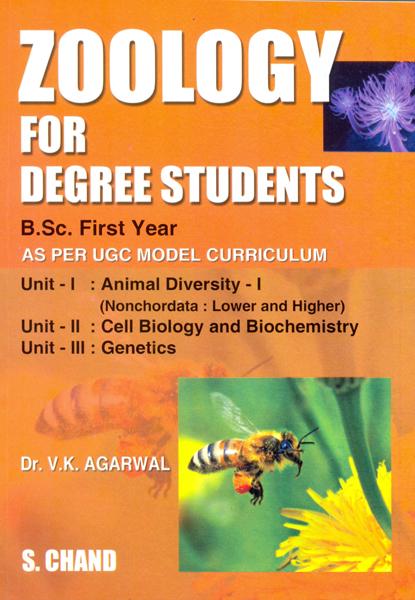Zoology for Degree Students B. Sc. I Year, 1/e