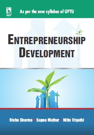 "ENTREPRENEURSHIP DEVELOPMENT: <Span Class=""Subtitlevalue"">(AS PER UPTU SYLLABUS), 1/e </Span>"