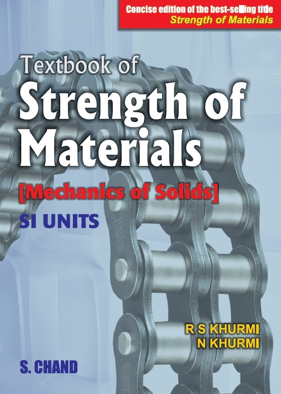 """TEXTBOOK OF STRENGTH OF MATERIALS: <Span Class=""""Subtitlevalue"""">CONCISE EDITION OF THE BEST-SELLING TITLE—STRENGTH OF MATERIALS </Span>"""