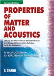Properties of Matter and Acoustics for B.Sc, 3/e  by  Kiruthiga Sivaprasath