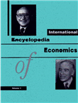 International Encyl.Of Economics (Vol 1-2) by  Fitzroy D Publishers