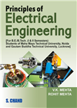 Principles of Electrical Engineering for U.P and U.K, 2/e  by  V K MEHTA