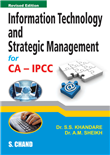 Information Technology and Strategic Management (For CA-IPCC) by  A M Sheikh