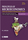 PRINCIPLES OF MICROECONOMICS: A NEW-LOOK TEXTBOOK OF MICROECONOMIC THEORY, 22/e  by  H L Ahuja