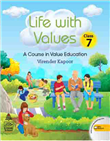 Life With Values class 7 by Virender Kapoor