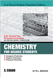 Chemistry for Degree Students B.Sc. 2nd Year by  R D Madan
