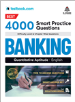 Best 4000 Smart Practice Questions for Banking - Quantitative Aptitude English, 1/e  by  Testbook