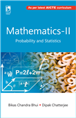 Mathematics-II (Probability and Statistics) (As per AICTE) by  Bikas Chandra Bhui