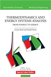 THERMODYNAMICS AND ENERGY SYSTEMS ANALYSIS, 1/e