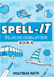 Spell-IT Spelling And Vocabulary Book-4