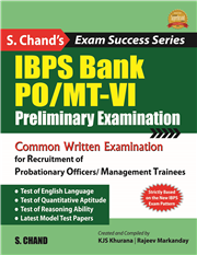 IBPS BANK PO/MT-VI: PRELIMINARY EXAMINATIONS