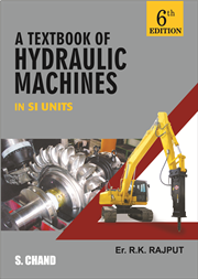A TEXTBOOK OF HYDRAULIC MACHINES: (MULTICOLOR), 6/e