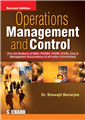 Operations Management and Control, 3/e  by  Biswajit Banerjee