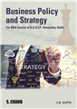 Business Policy and Strategy: (For GGSIP University, Delhi) by  Dr. C B Gupta
