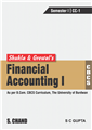Shukla & Grewal's Financial Accounting: (As per B.Com. CBCS Curriculum, Semester I, The University of Burdwan) by  M C Shukla