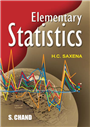 Elementary Statistics, 17/e  by  H C Saxena