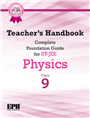 Teacher's Handbook Complete Foundation Guide for IIT-JEE Physics IX