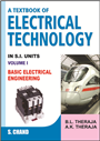 A Textbook of Electrical Technology Volume I (Multicolour Edition), 23/e