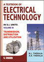 A Textbook of Electrical Technology Volume III (Multicolour Edition), 23/e  by  B L Theraja