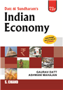 Indian Economy, 72/e  by  Gaurav Datt