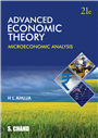 ADVANCED ECONOMIC THEORY, 21/e  by  H L Ahuja