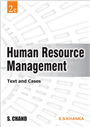 Human Resource Management (Text and Cases), 2/e  by  S S Khanka