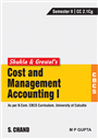 Shukla & Grewal's Cost and Management Accounting-I (As per B.Com. CBCS Curriculum, Sem.-II of University of Calcutta)