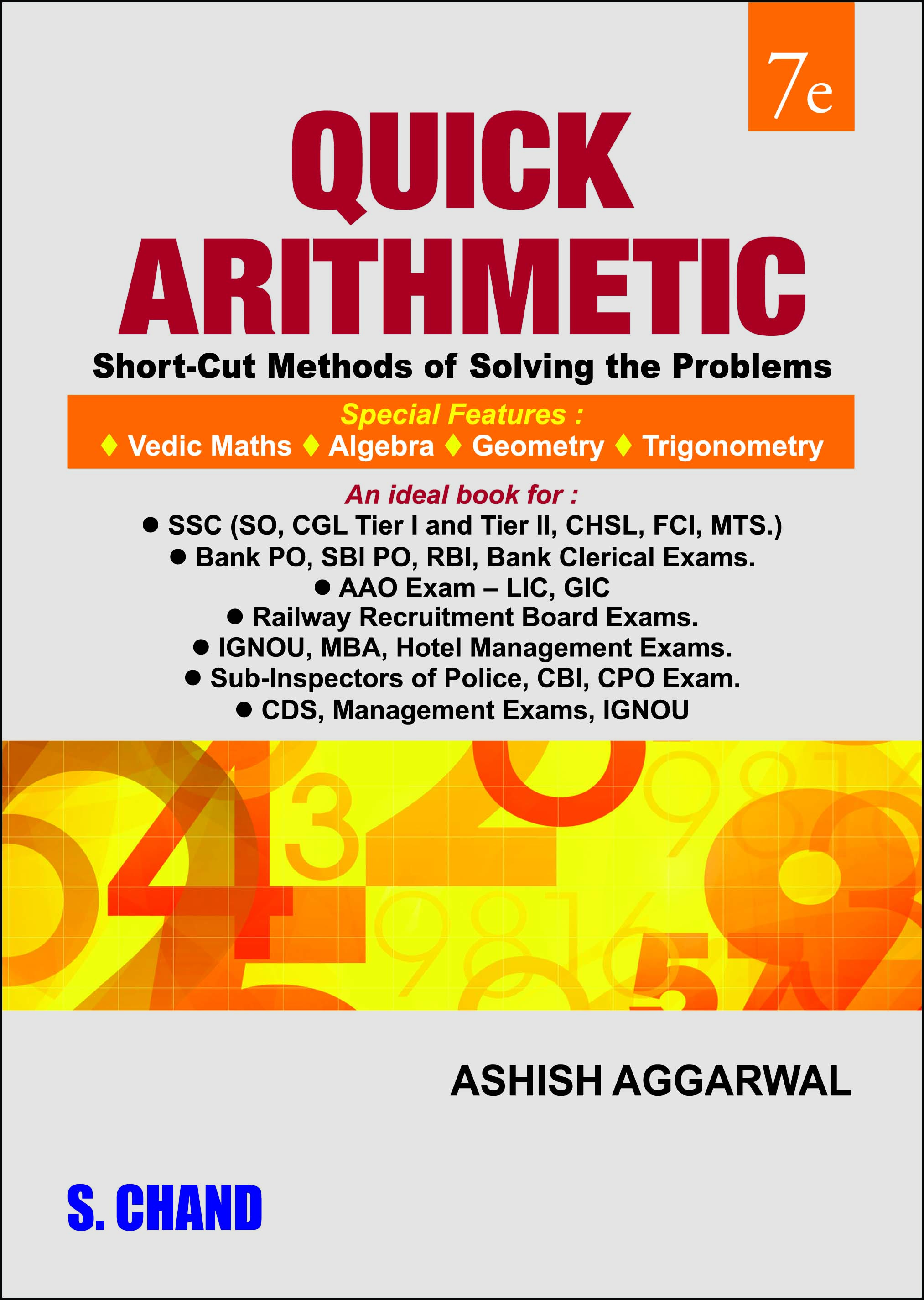 QUICK ARITHMETIC By Ashish Aggarwal